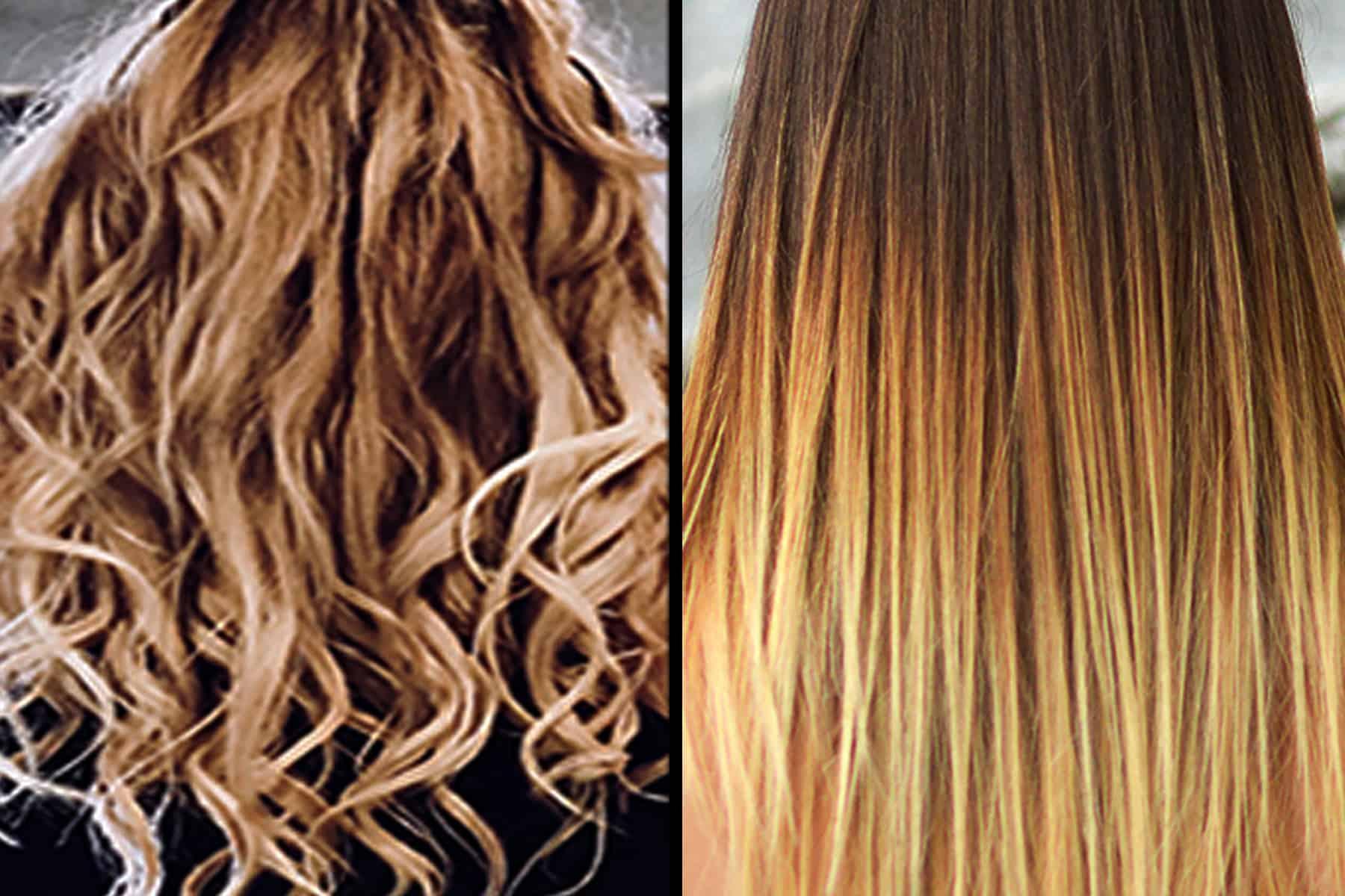 Permanent hair straightening - How