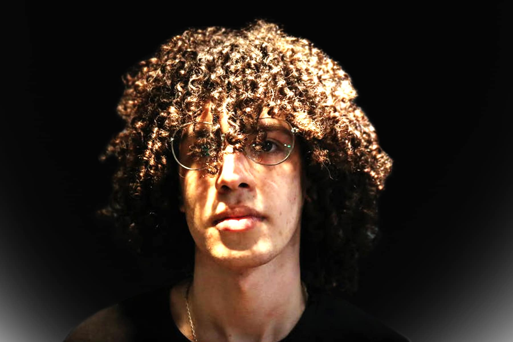Highlighted Curls for Men