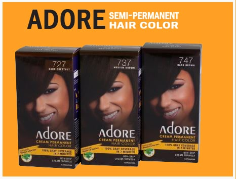 Adore semi permanent hair color