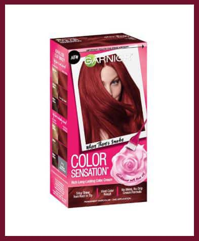 Garnier semi-permanent hair color