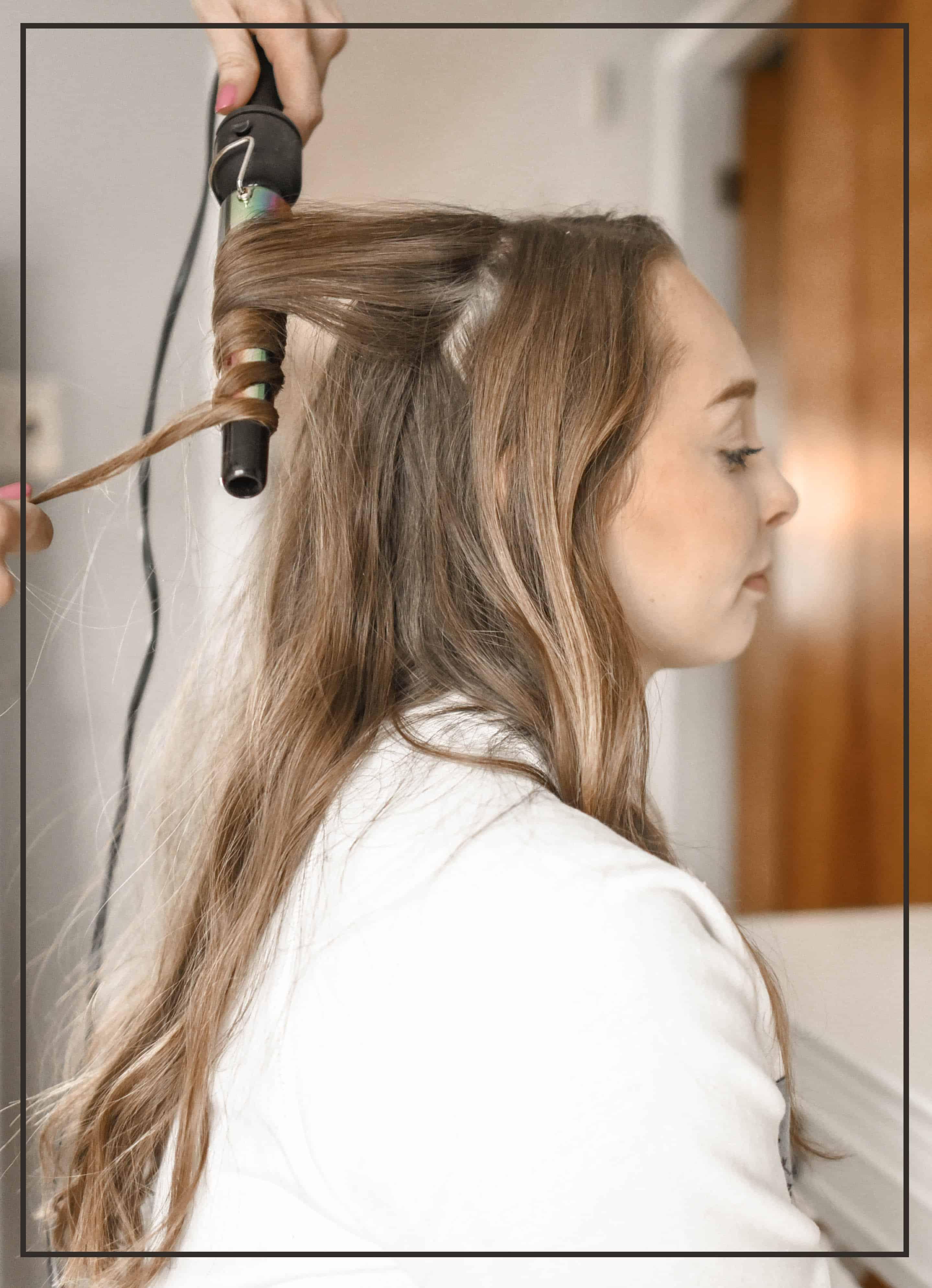 Keratin Hair Treatment Process
