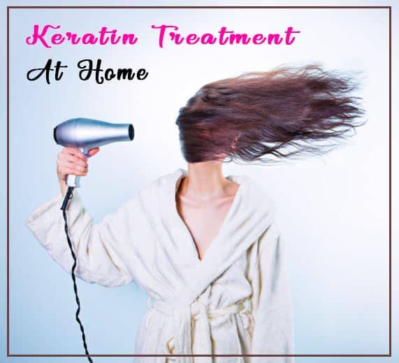 Keratin treatment at home
