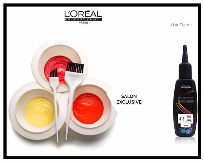 Loreal semi permanent hair color