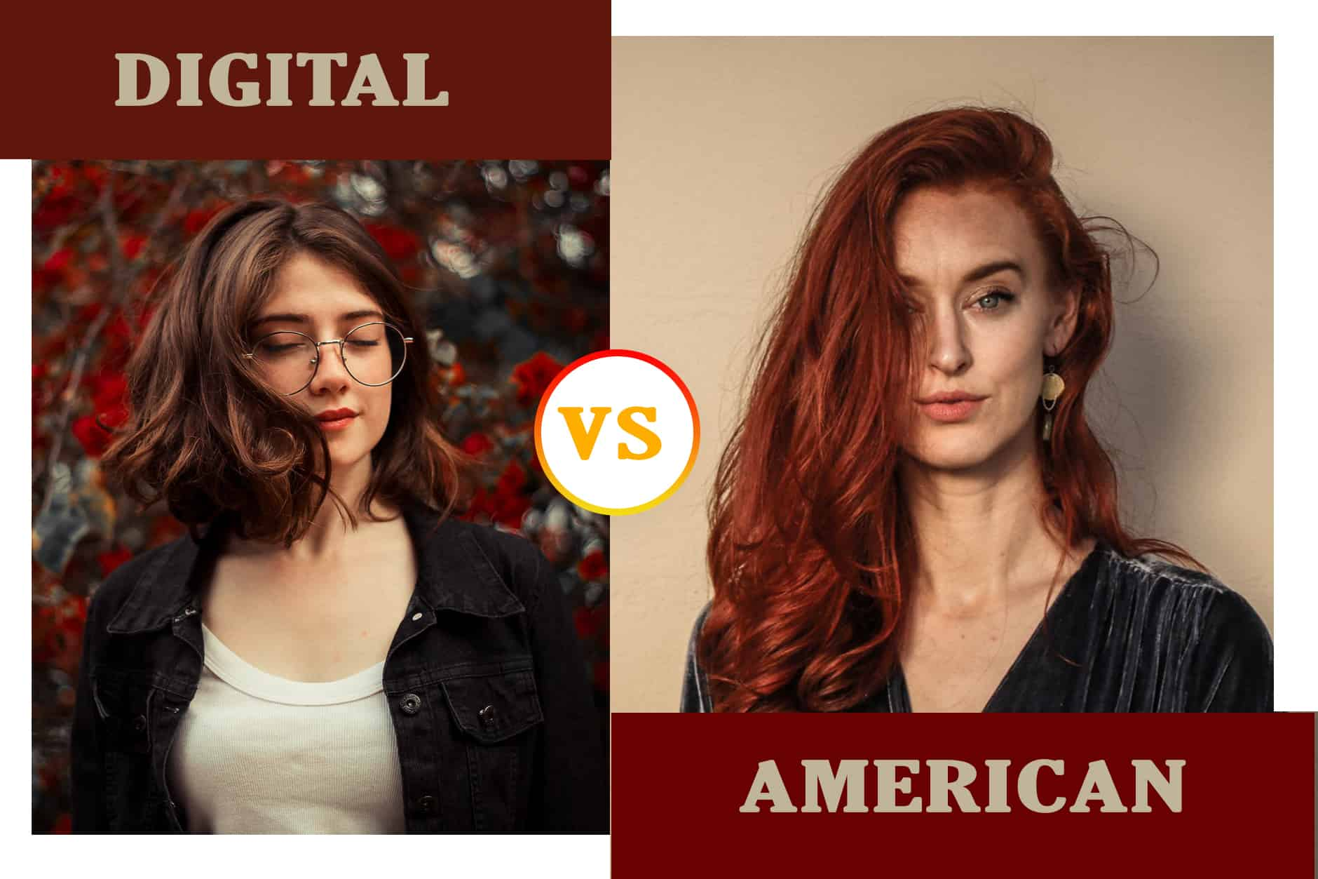 Digital perm vs American wave perm
