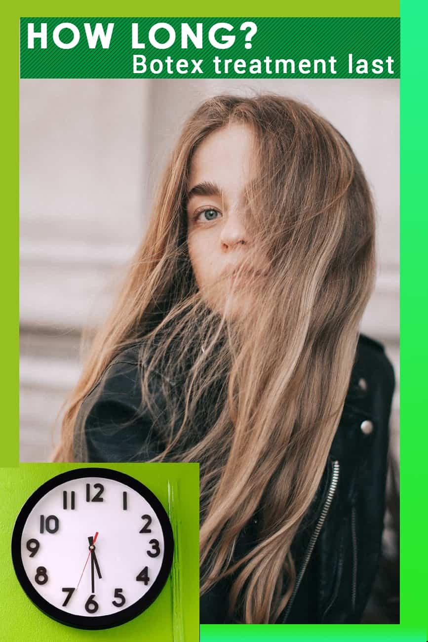 How long does hair Botox treatment last