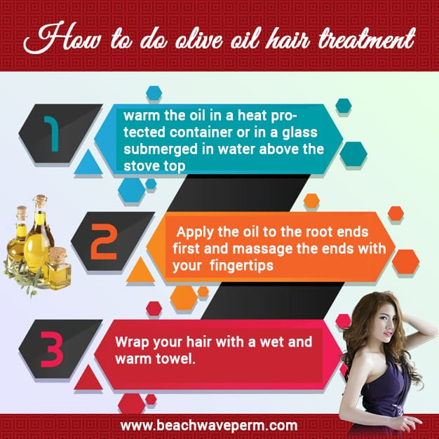 How to do olive oil hair treatment?