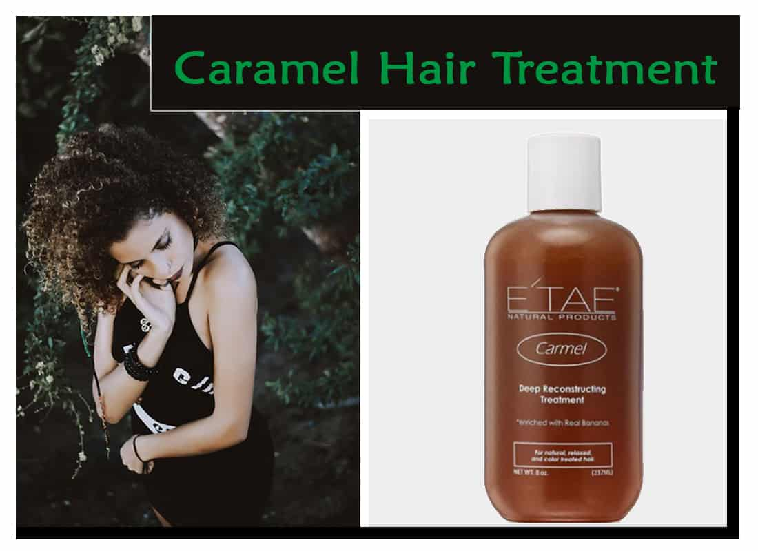 Caramel Hair Treatment