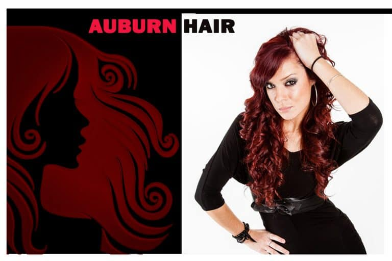 Auburn hair color | Dark auburn hair color | Auburn hair dye | Red hair