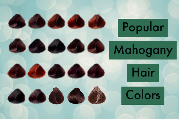 Popular Mahogany Hair Color