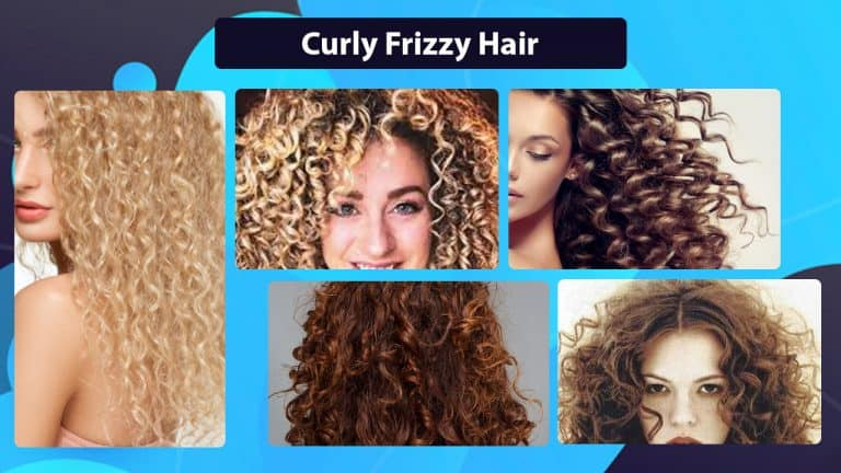 Hairstyles for curly frizzy hair | Best shampoo, products for frizzy curly hair