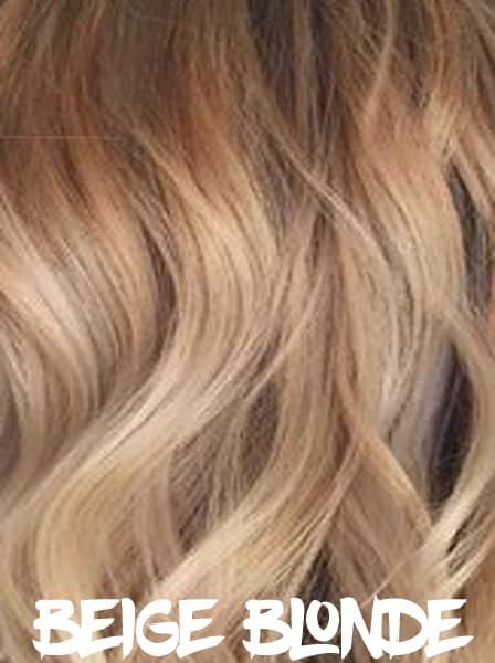Beige Blonde Hair Color