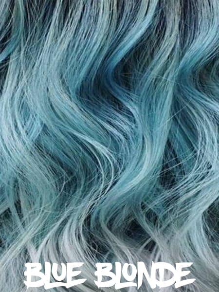 Blue Blonde Hair