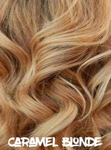 Caramel Blonde Hair Color