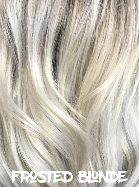 Frosted Blonde Hair