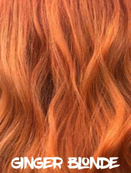 Ginger Blonde Hair