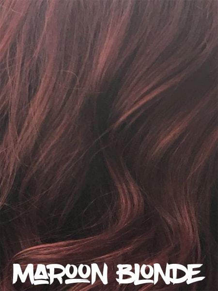 Maroon Blonde Hair
