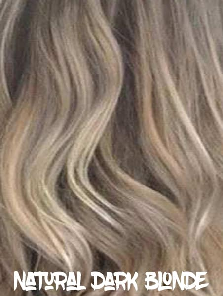 Natural Dark Blonde Hair