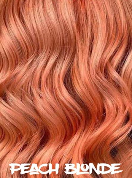 Peach Blonde Hair
