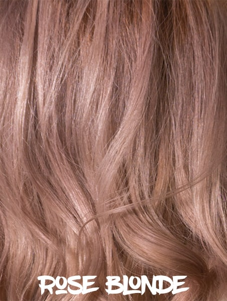 Rose Blonde Hair