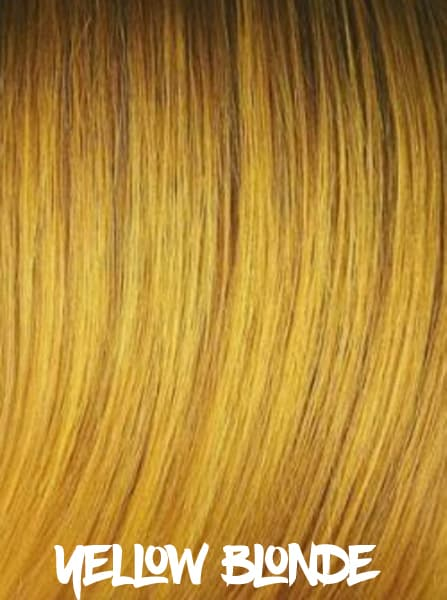 Yellow Blonde Hair