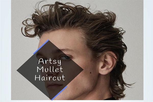 Artsy Mullet Haircut