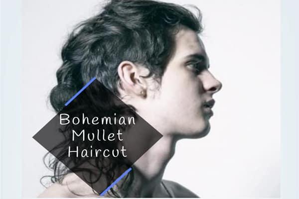 Bohemian Mullet Haircut