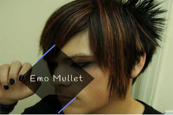 Emo Mullet for teenagers