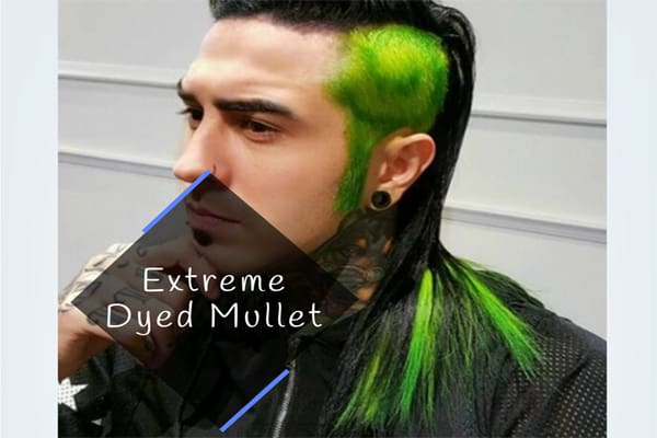 Extreme Dyed Mullet