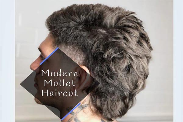 Modern Mullet Haircut