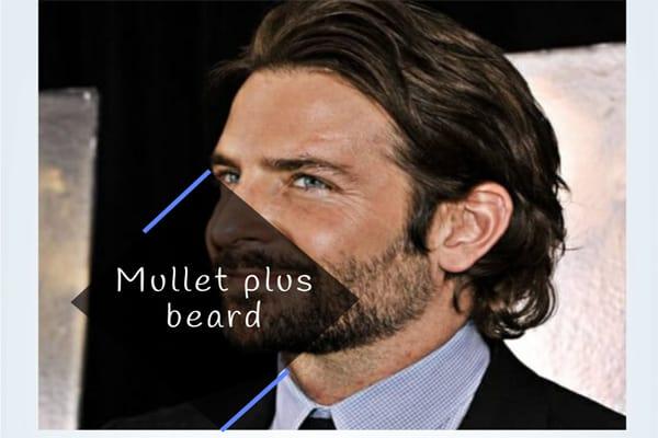 Mullet plus beard