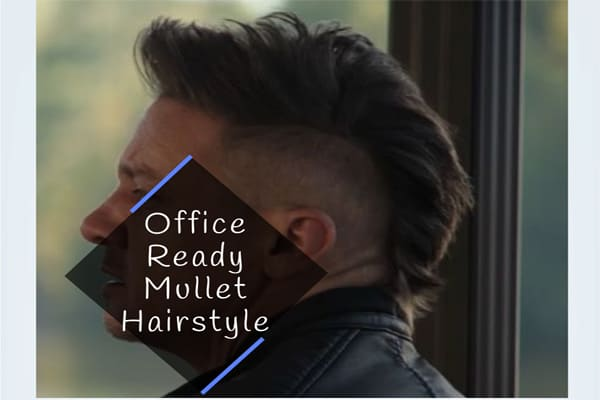 Office Ready Mullet Hairstyle