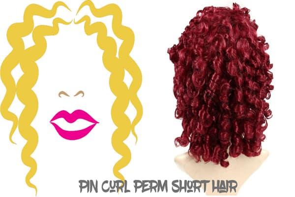 Pin Curl Perm Short Hair