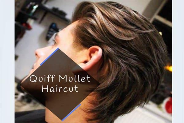 Quiff Mullet Haircut