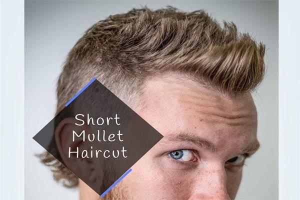Short Mullet Haircut