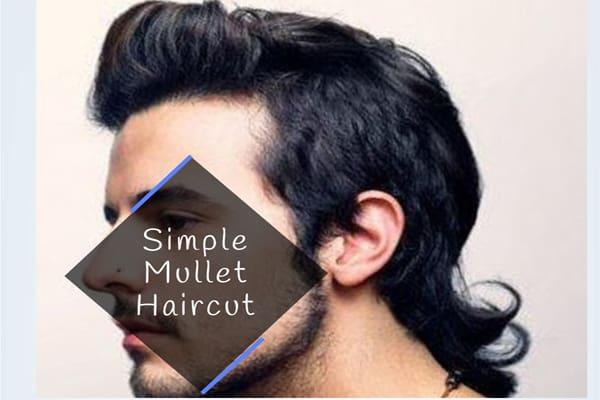 Simple Mullet Haircut