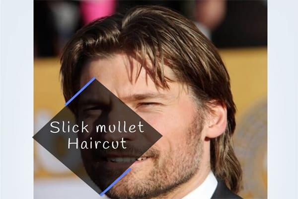 Slick mullet Haircut
