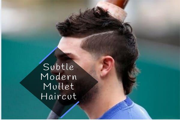 Subtle Modern Mullet Haircut
