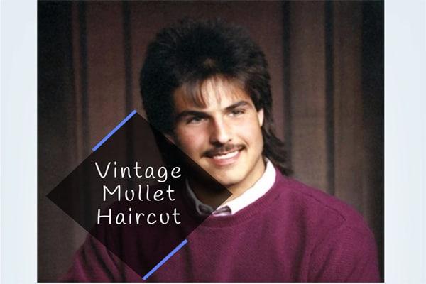 Vintage Mullet Haircut