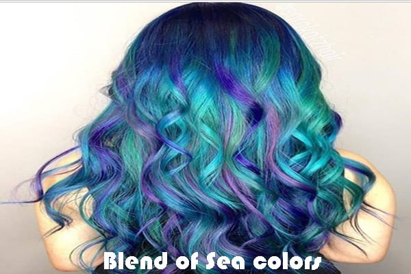 Blend of Sea colors