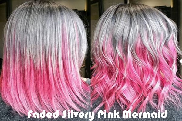 Faded Silvery Pink