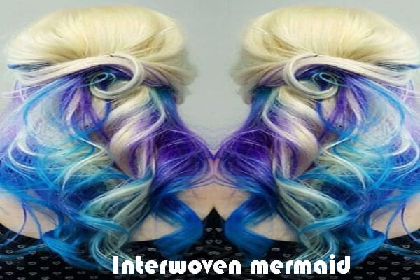 Interwoven mermaid
