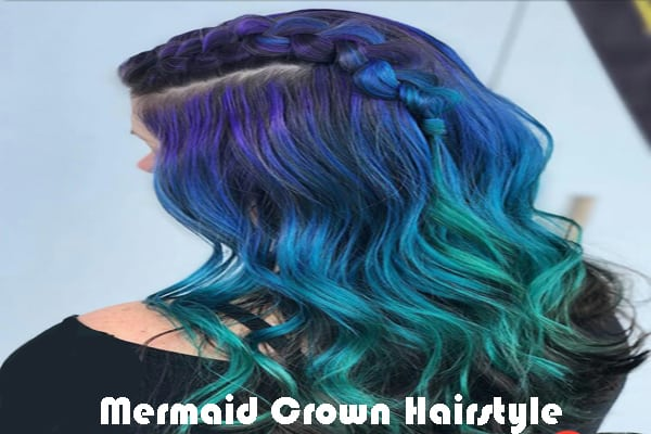 Mermaid Crown Hairstyle
