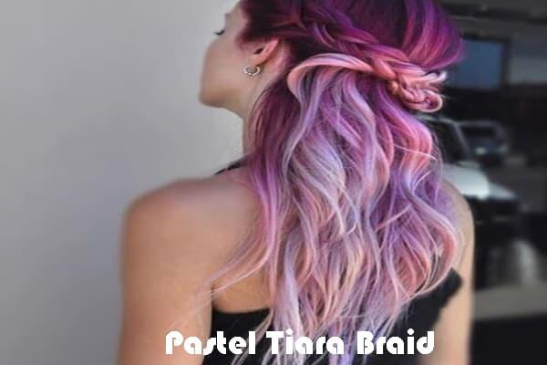 Pastel Tiara Braid