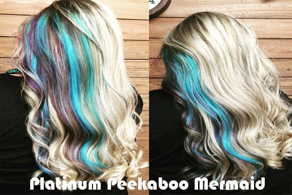 Platinum Peekaboo Mermaid