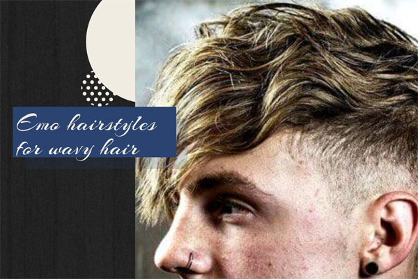 11 Emo hairstyles for wavy hair