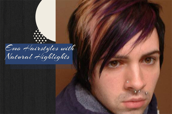 17 Emo Hairstyles with Natural Highlights