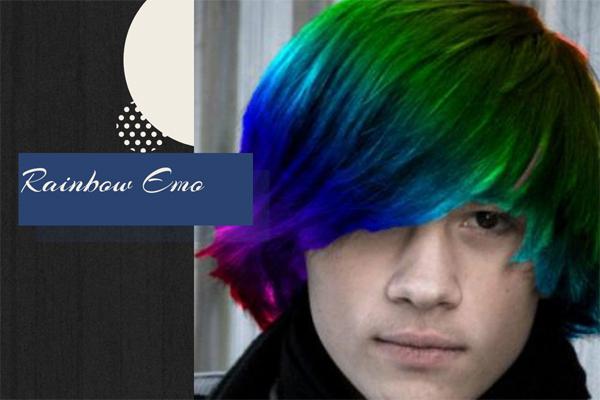 44 Rainbow Emo