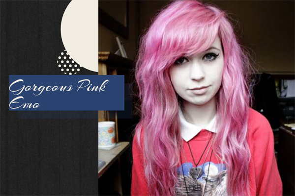 47 Gorgeous Pink Emo