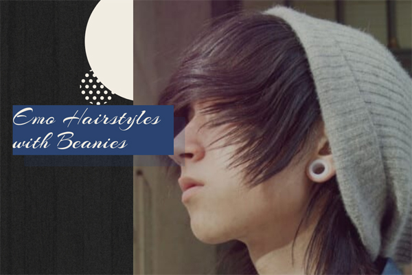 48 Emo Hairstyles for Guys with Beanies