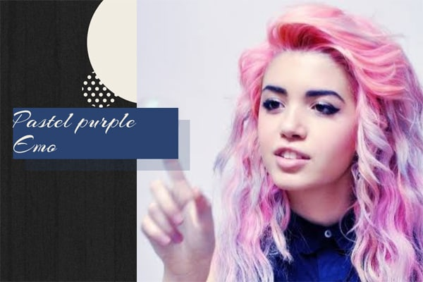 51 Pastel purple Emo